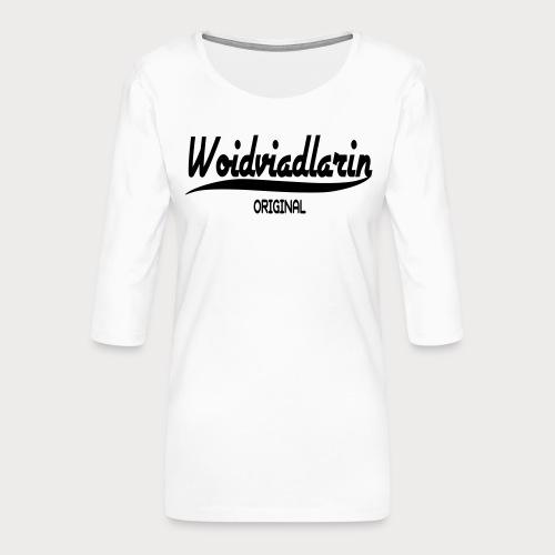 Waldviertel - Frauen Premium 3/4-Arm Shirt