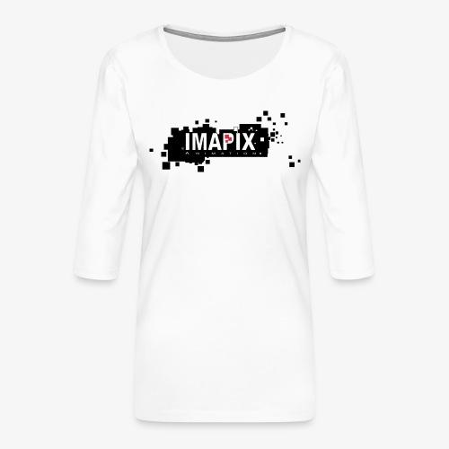 IMAPIX ANIMATION Rectro02 - T-shirt Premium manches 3/4 Femme