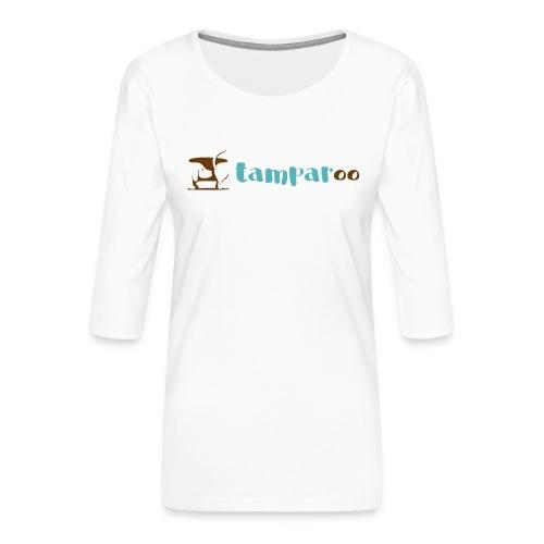 Tamparoo - Maglietta da donna premium con manica a 3/4