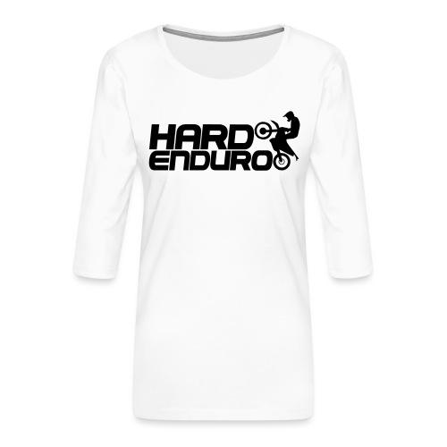 Hard Enduro Biker - Frauen Premium 3/4-Arm Shirt