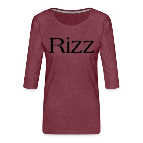 cooltext193349288311684 - Women's Premium 3/4-Sleeve T-Shirt