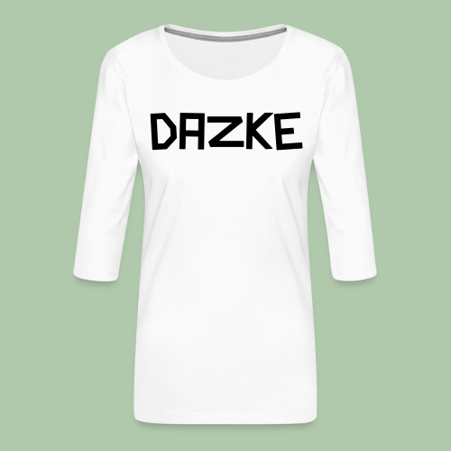 dazke_bunt - Frauen Premium 3/4-Arm Shirt