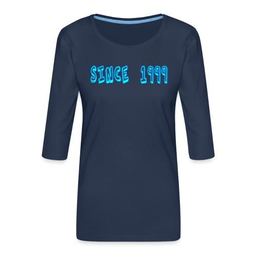 Since 1999 - Naisten premium 3/4-hihainen paita