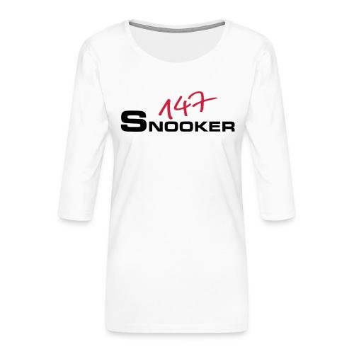 147_snooker - Frauen Premium 3/4-Arm Shirt