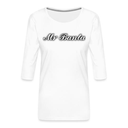 italic banta - Women's Premium 3/4-Sleeve T-Shirt