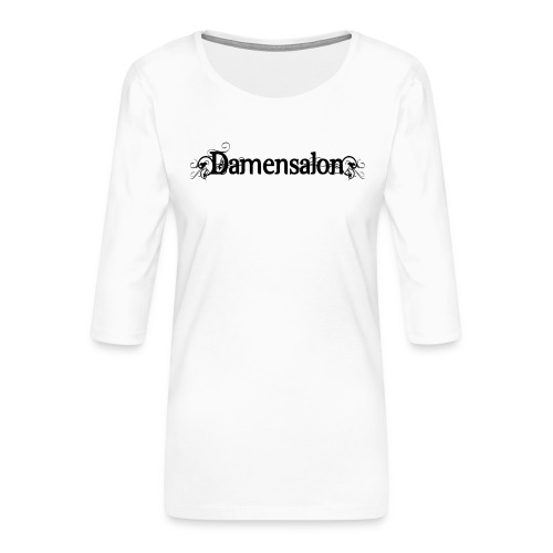 damensalon2 - Frauen Premium 3/4-Arm Shirt