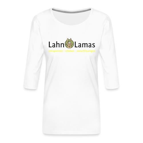 Lahn Lamas - Frauen Premium 3/4-Arm Shirt
