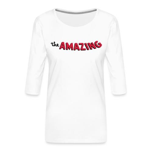 Amazing - Vrouwen premium shirt 3/4-mouw
