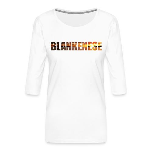 Blankenese Hamburg - Frauen Premium 3/4-Arm Shirt