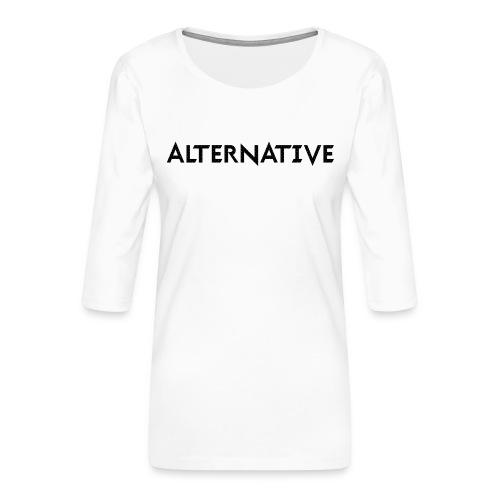 Im T-shirt White - Koszulka damska Premium z rękawem 3/4
