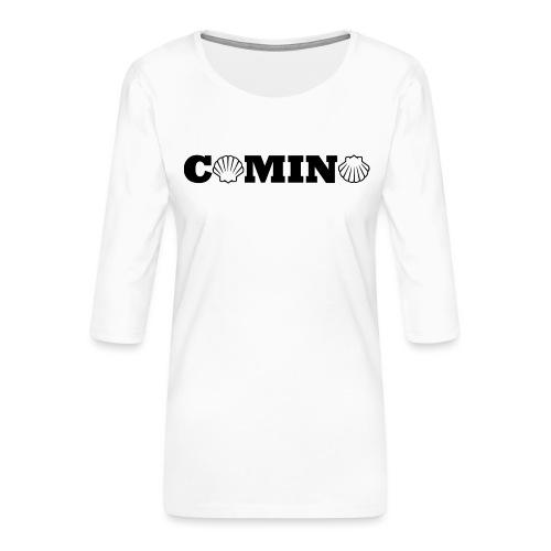 Camino - Dame Premium shirt med 3/4-ærmer