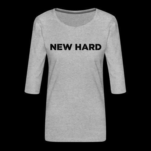 NAAM MERK - Vrouwen premium shirt 3/4-mouw