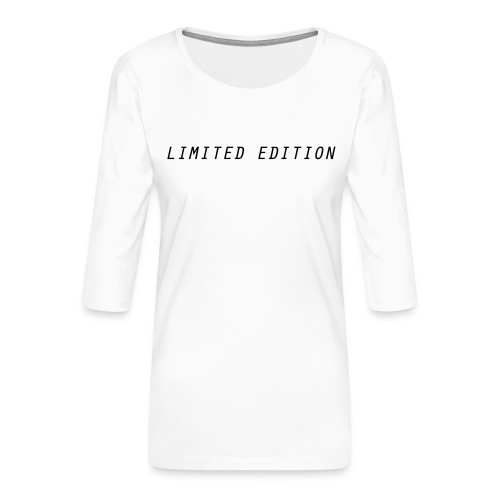 Limited edition - Women's Premium 3/4-Sleeve T-Shirt