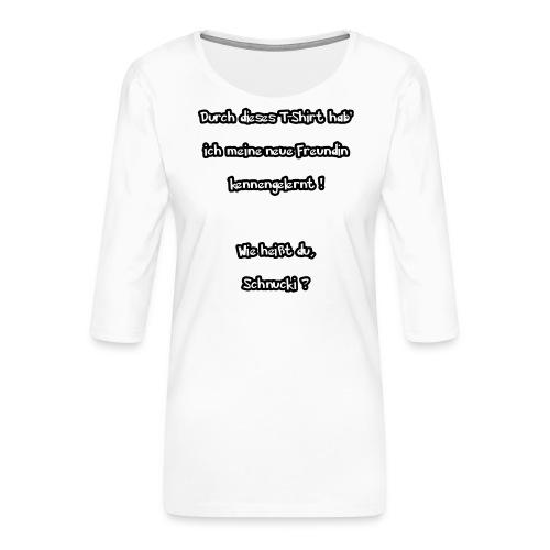 Schnucki - Frauen Premium 3/4-Arm Shirt