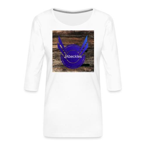 JAbeckles - Women's Premium 3/4-Sleeve T-Shirt