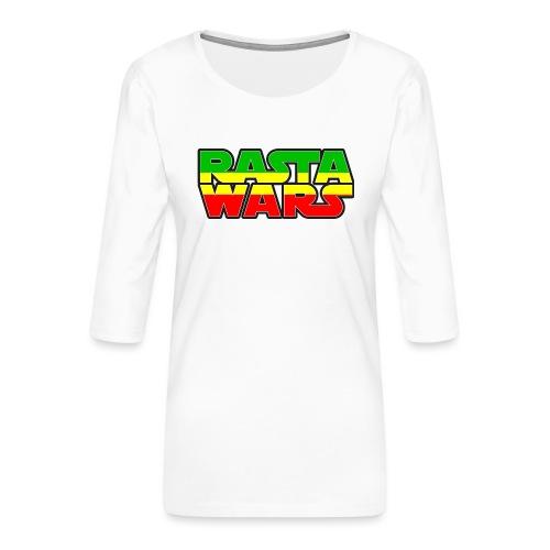 RASTA WARS KOUALIS - T-shirt Premium manches 3/4 Femme