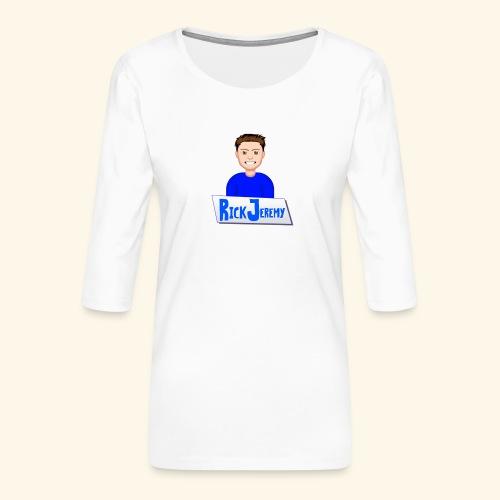RickJeremymerchandise - Vrouwen premium shirt 3/4-mouw