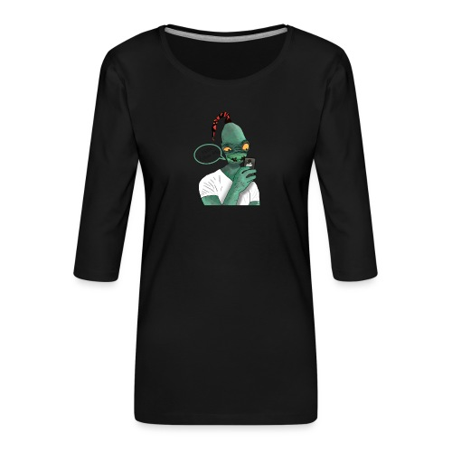 Modern Day Abe - Women's Premium 3/4-Sleeve T-Shirt