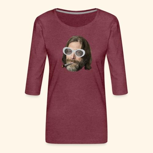 Ola Conny: Turnt Up Collection - Premium-T-shirt med 3/4-ärm dam