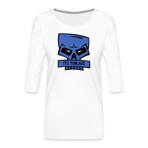 Itz Torjuz - Premium T-skjorte med 3/4 erme for kvinner