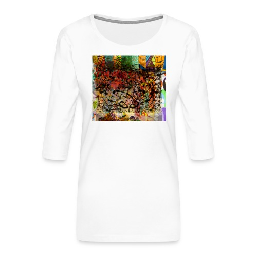 urban tribute - T-shirt Premium manches 3/4 Femme