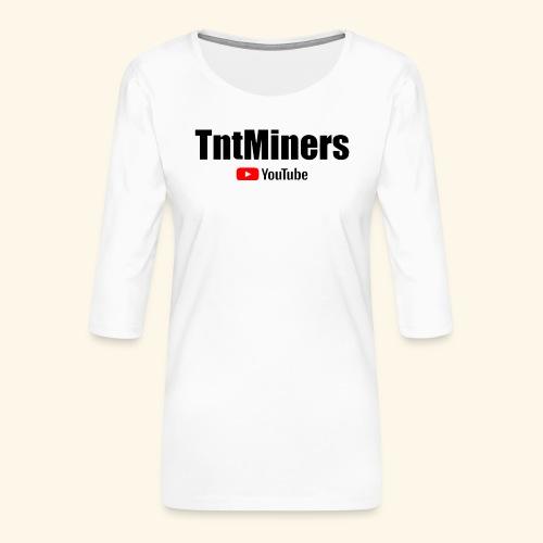 tnty - Premium-T-shirt med 3/4-ärm dam