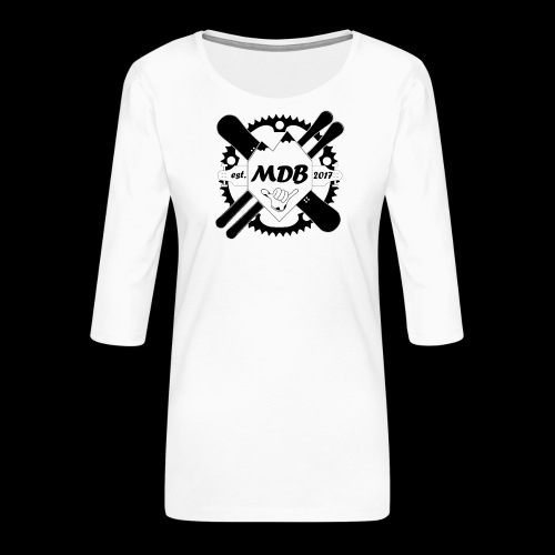 Madabe Logo Shirt - Frauen Premium 3/4-Arm Shirt