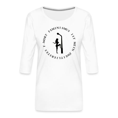Feminismus - Frauen Premium 3/4-Arm Shirt