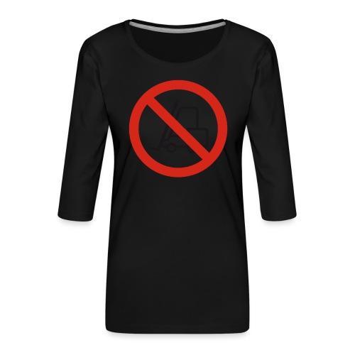 Stapler Crew Stagehand - Frauen Premium 3/4-Arm Shirt