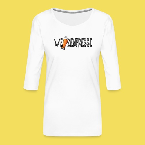 Weizenpresse - Frauen Premium 3/4-Arm Shirt