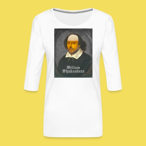 Shakesbeer - groß - Frauen Premium 3/4-Arm Shirt