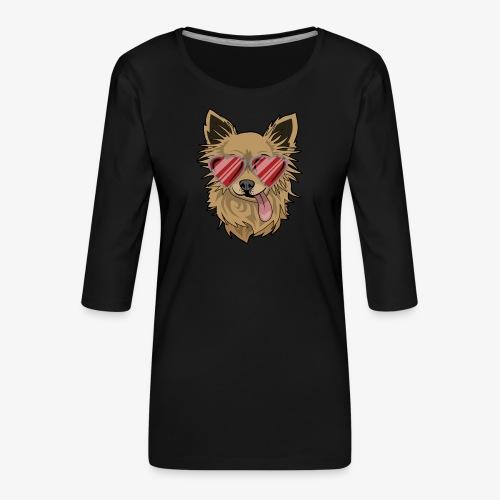 Cool Engla - Premium-T-shirt med 3/4-ärm dam