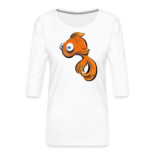 Frustfisch - Frauen Premium 3/4-Arm Shirt