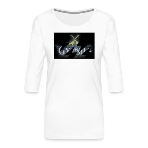 GYPSIES BAND LOGO - Women's Premium 3/4-Sleeve T-Shirt