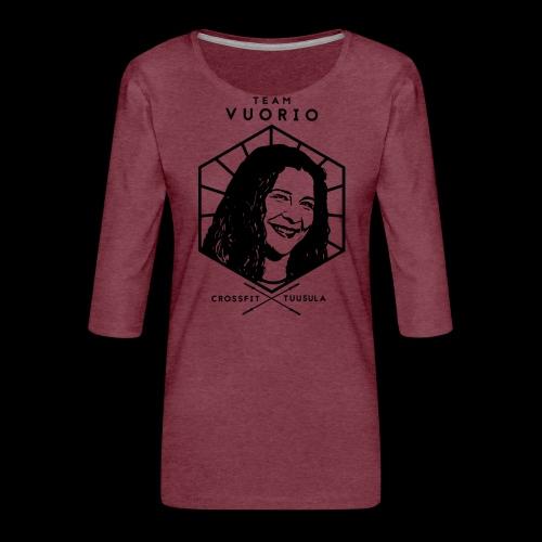 Vuorio WW 18 - Naisten premium 3/4-hihainen paita