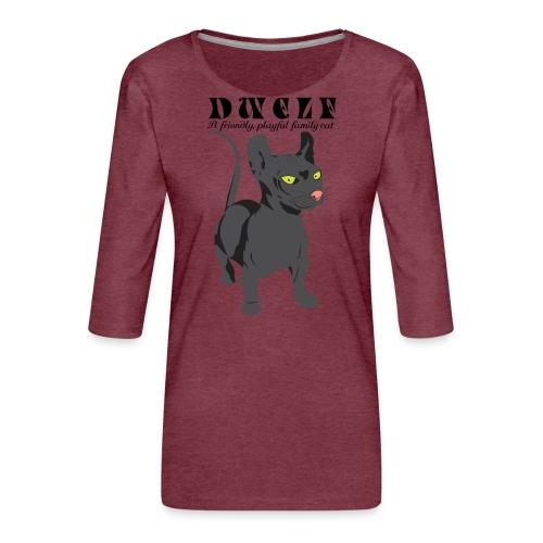 DWELF - Naisten premium 3/4-hihainen paita