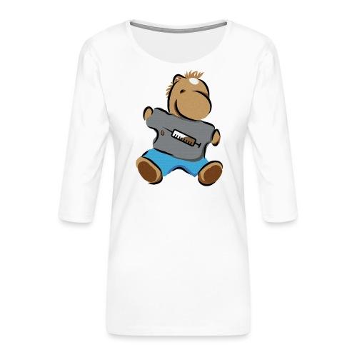 Breitmarra - Frauen Premium 3/4-Arm Shirt