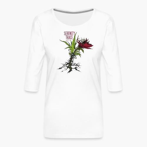 Serenity Trace - Jamais Vu Cover - Premium T-skjorte med 3/4 erme for kvinner