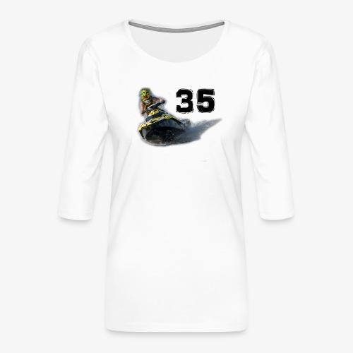 jetski35 - Naisten premium 3/4-hihainen paita