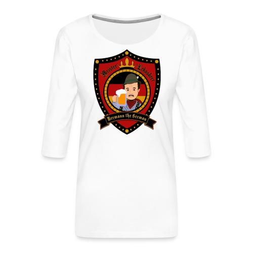 Hermann the German - Women's Premium 3/4-Sleeve T-Shirt