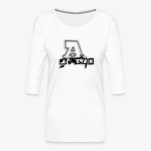 AI Beats - Women's Premium 3/4-Sleeve T-Shirt