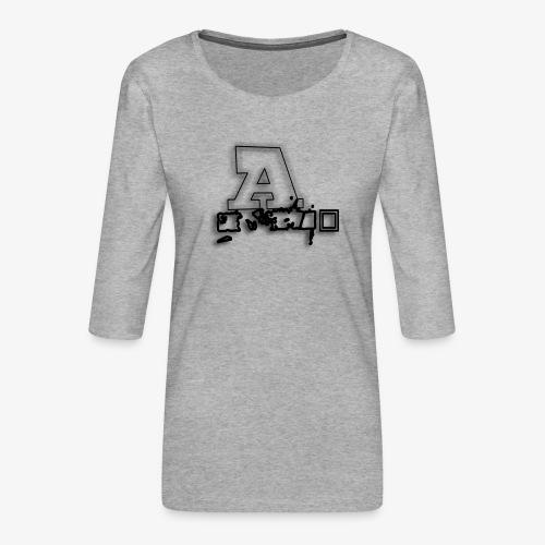 AI Beats - Women's Premium 3/4-Sleeve T-Shirt