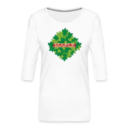 maple - Frauen Premium 3/4-Arm Shirt