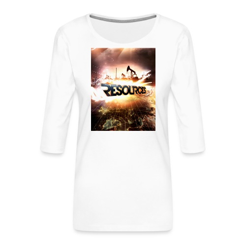 RESOURCES Splash Screen - Frauen Premium 3/4-Arm Shirt