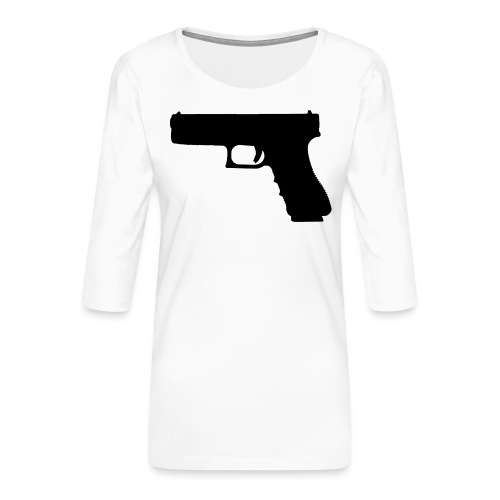 The Glock 2.0 - Women's Premium 3/4-Sleeve T-Shirt