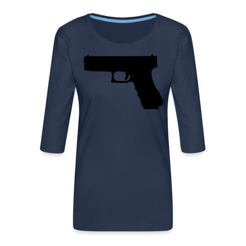 The Glock 2.0 - Women's Premium 3/4-Sleeve T-Shirt