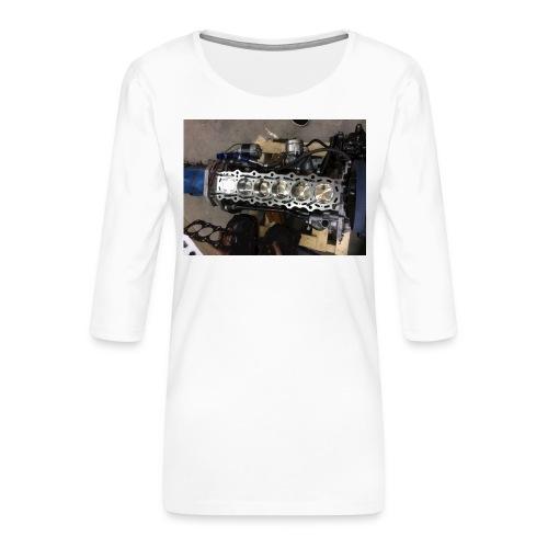 Motor tröja - Premium-T-shirt med 3/4-ärm dam
