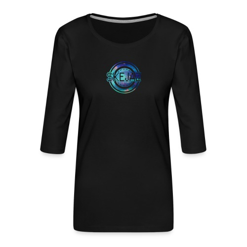 Official SKEJAZ Band Logo - Women's Premium 3/4-Sleeve T-Shirt
