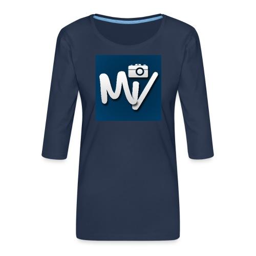 Maxvlogs T-shirt - Vrouwen premium shirt 3/4-mouw