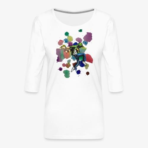 Dancer - Women's Premium 3/4-Sleeve T-Shirt